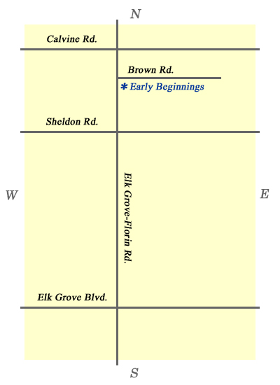 Elk Grove Preschool Learning Center Location